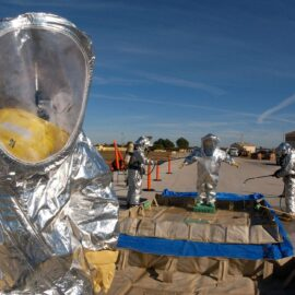 Ebola Decontamination: Following Procedure