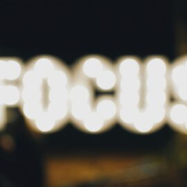 Finding Your Focus Is the Key to Happiness