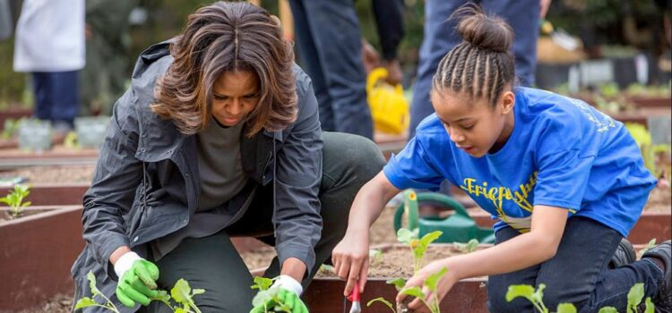First Lady Michelle Obama Wanted to Make an Impact