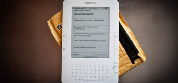 Amazon and the History of the First Kindle