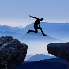 To Make Big Leaps, Get Comfortable With Uncertainty